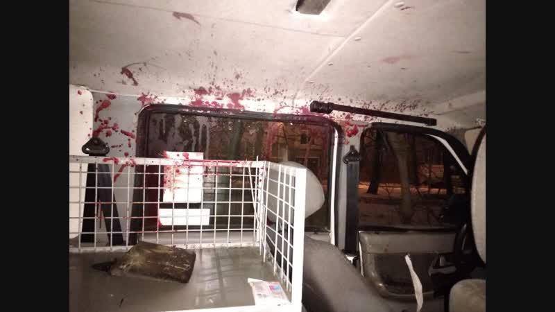 На ЗСД в Санкт-Петербурге легковой автомобиль влетел в Patriot ППС с мигалками