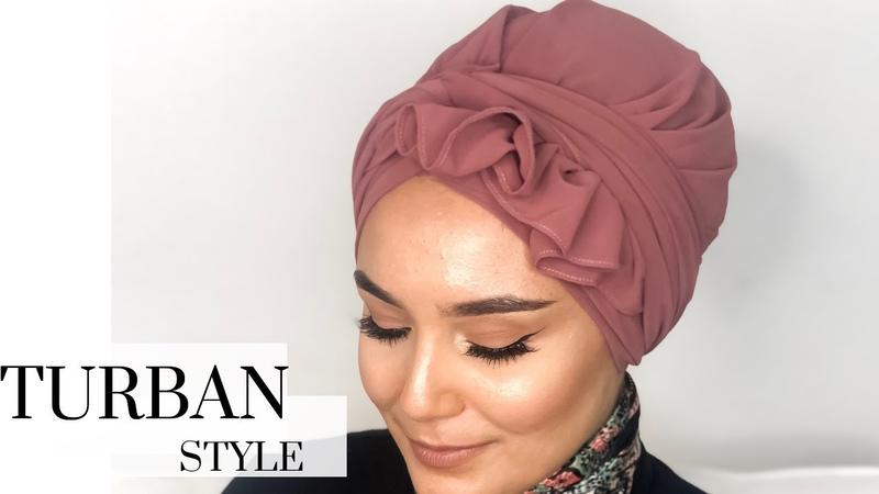 Ruffled turban Style I kolay türban modeli