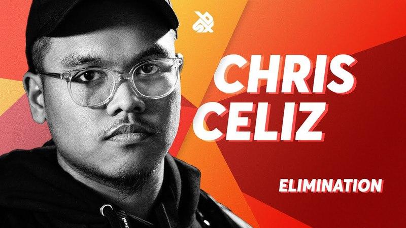 CHRIS CELIZ   Grand Beatbox SHOWCASE Battle 2018   Elimination