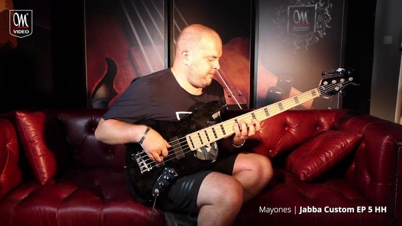 Anton Davidyants – Mayones Jabba Custom EP 5 HH Bass Demo