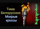 Тима Белорусских - Мокрые кроссы караоке