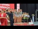 Церемония награждения - многоборье групповых упражнений WCC Минск 2018
