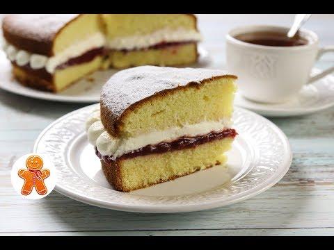 Торт Королевы Виктории ✧ Victoria Sandwich Cake