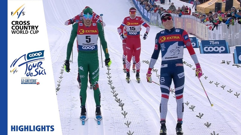 Highlights Klaebo claims victory in 15 km Val di Fiemme Men's MST FIS Cross Country
