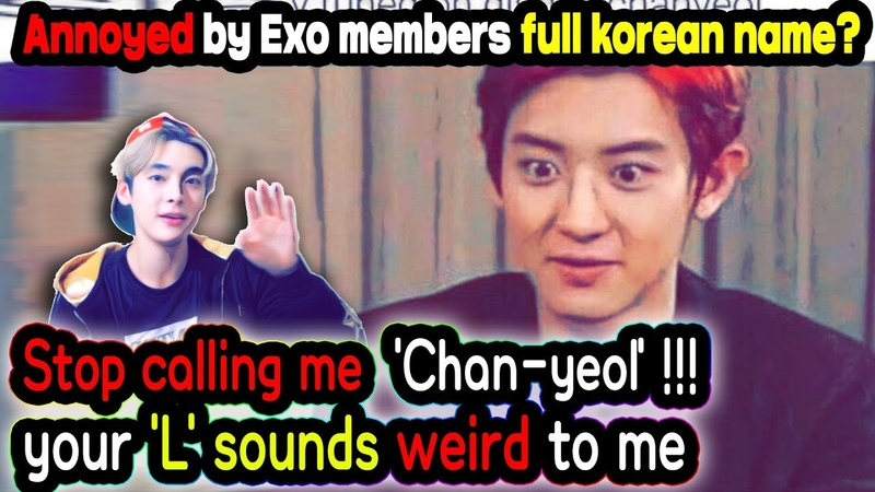 How to pronounce EXO real names perfectly in Korean
