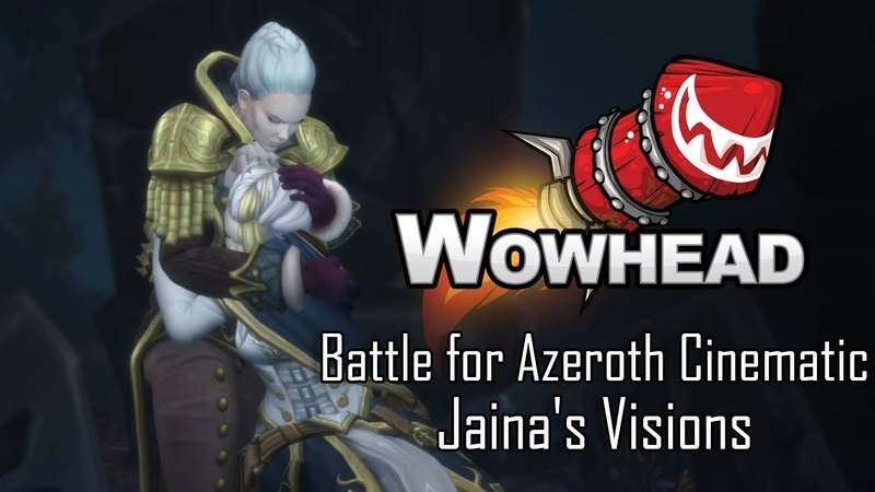 Battle for Azeroth Cinematic - Jaina's Visions