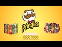 1188-Eight Pixar Lamps Luxo Jr Logo Spoof Pringles