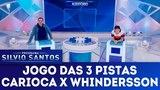 Jogo das 3 Pistas - Carioca x Whindersson Programa Silvio Santos (030618)