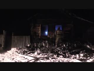 Пожар в с. Горохово Юргамышского района Курганской области ликвидирован