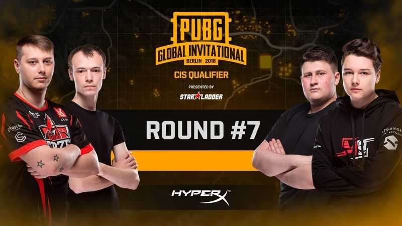 Battle 7, LAN-Finals PUBG Global Invitational CIS Closed Qualifier, Day 2