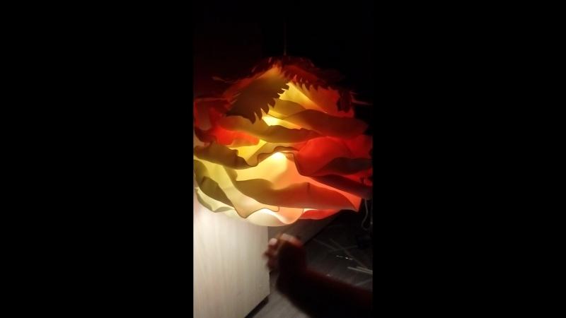 Светильник подвесной Ожидание В вечернем розовом свете я зделаю мужу амлетик накрою стол роматнично включу торшер симпотичны