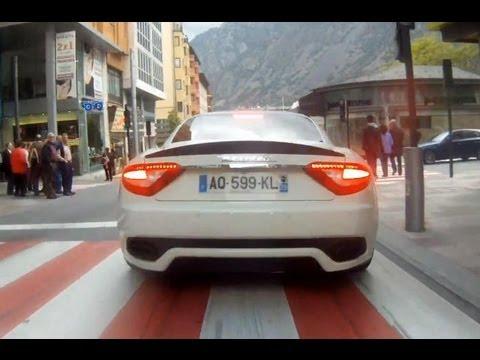 Maserati Granturismo S MC Pack BRUTAL CHASING!! Flatout in full thorttle, RedLine REVS...