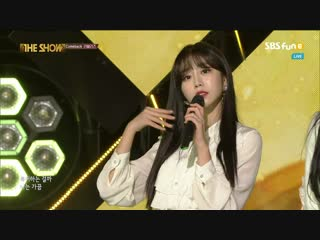 181204 [Comeback Stage] Lovelyz - Rewind + Lost N Found + Backstage Interview @ The Show