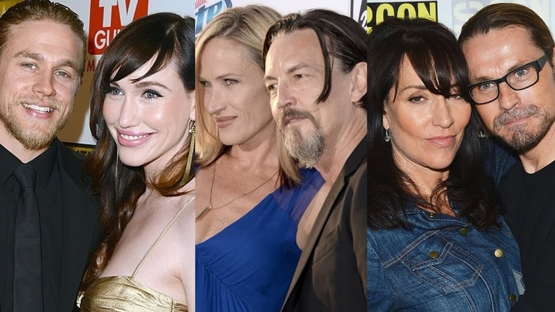 Sons of Anarchy ... and their real life partners