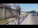 Электрощиток горит на Дубровинского