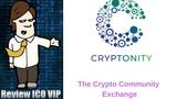 Cryptonity Review ICO The Crypto Community Exchange