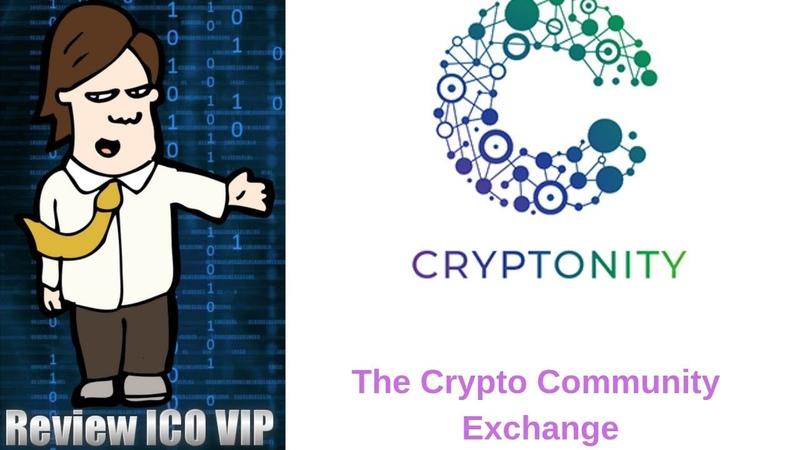 Cryptonity Review ICO – The Crypto Community Exchange