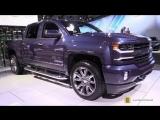 Chevrolet Silverado LTZ 100th Anniversary 2018 - Exterior Interior Walkaround - 2017 LA Auto Show