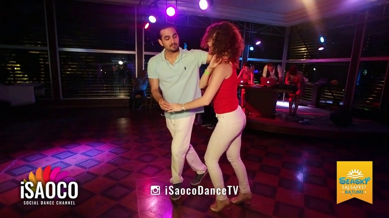 Tomas Münür Tenekeci and Mariya Fionova Salsa Dancing at Seasky Salsafest Batumi, Friday 15.06.2018