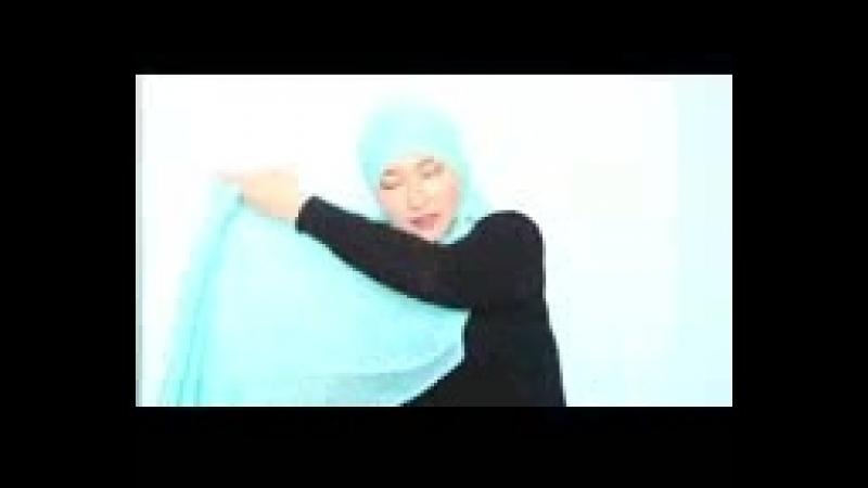 Орамал тағудың ең оңай 3 тәсілі - Hijab tutorial -- Марфуға ШАПИЯН_144p.3gp