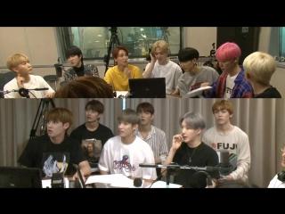 [180718] seventeen (세븐틴) @ sbs power fm kim chang ryul's old school radio