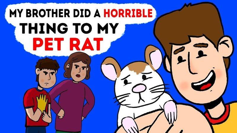 My Brother Did A Horrible Thing To My Pet Rat