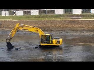 Осушение Екатерининского пруда
