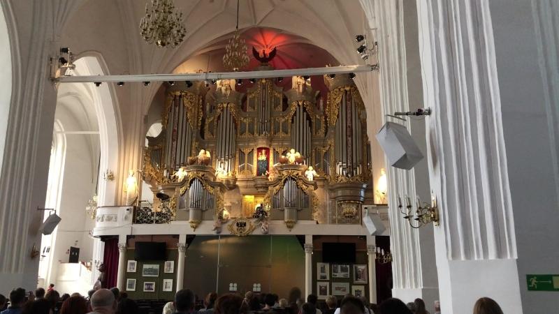 Органная музыка в здании Кафедрального собора г.Калининград. ч.2