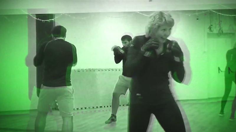 BOX в X-Fit Галактика (тренер Сайфуллин Шухрат)
