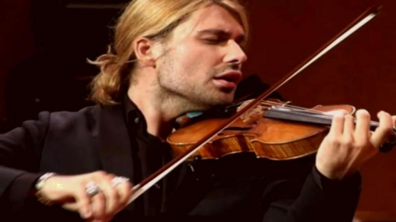 David Garrett [photos] Rachmaninoff concerto No2. HD