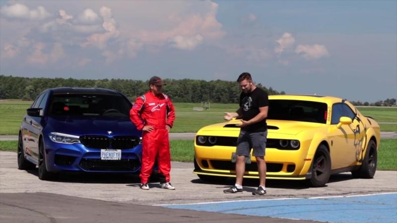 BMW M5 vs Dodge Challenger SRT Demon