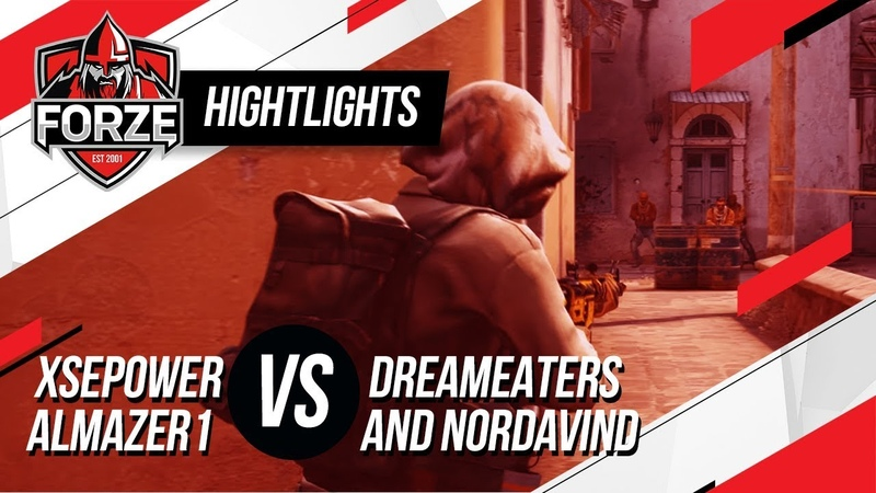 CS:GO Highlights: forZe vs Dreameaters,Nordavind