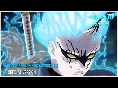 Naruto defends Ninja World 1.2 .(Mitsuki Sage Mode)...