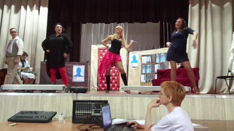 26.05.2018 Танцы чертовок Эммаус