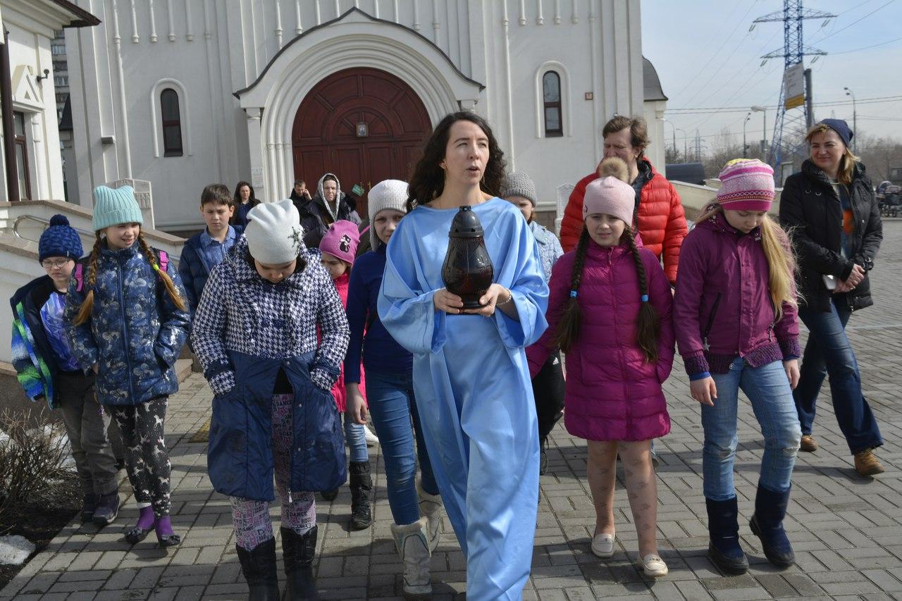 Пасхальный квест для воспитанников Московии