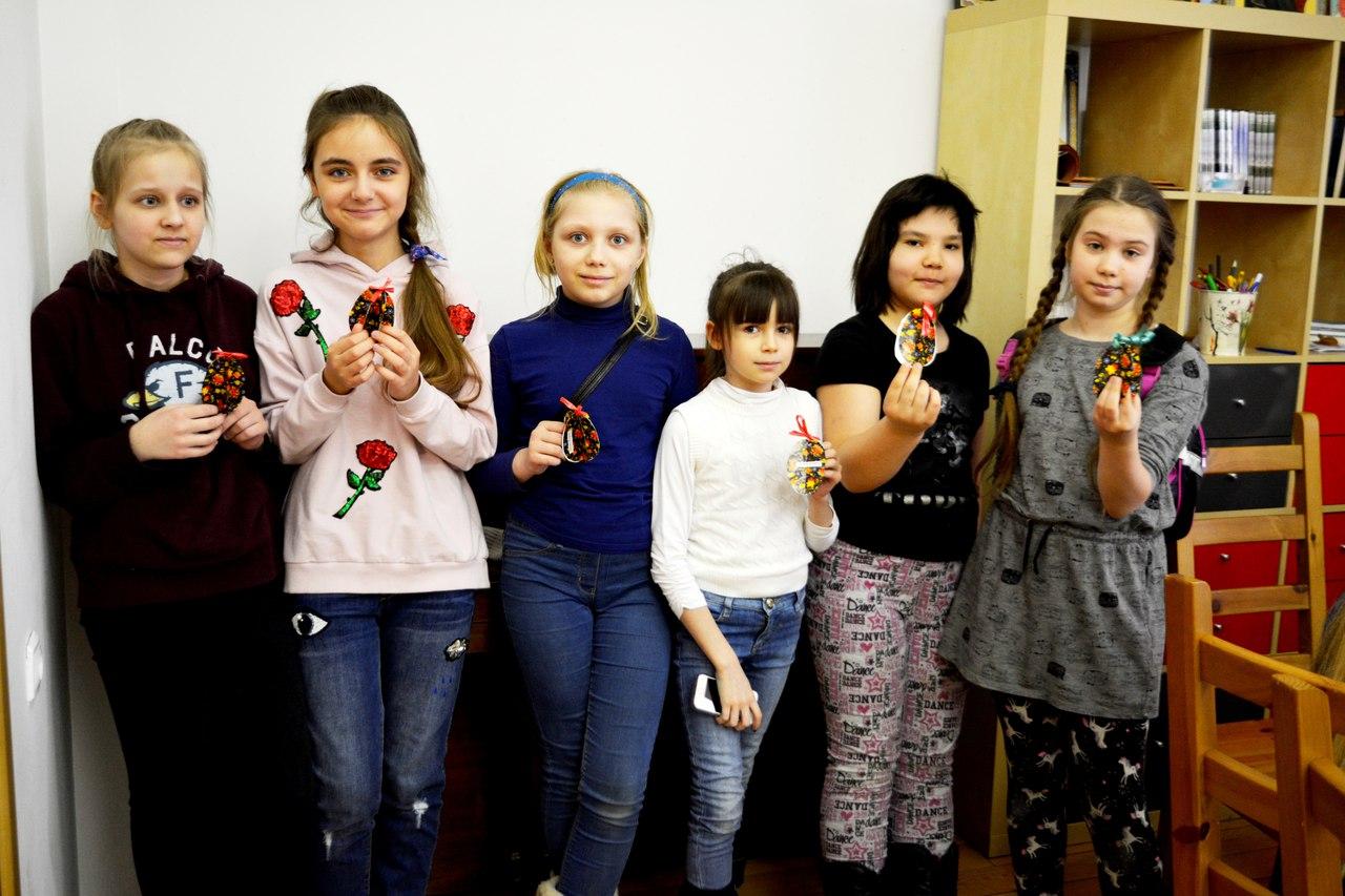 пасхальный мастер-класс для воспитанников Московии