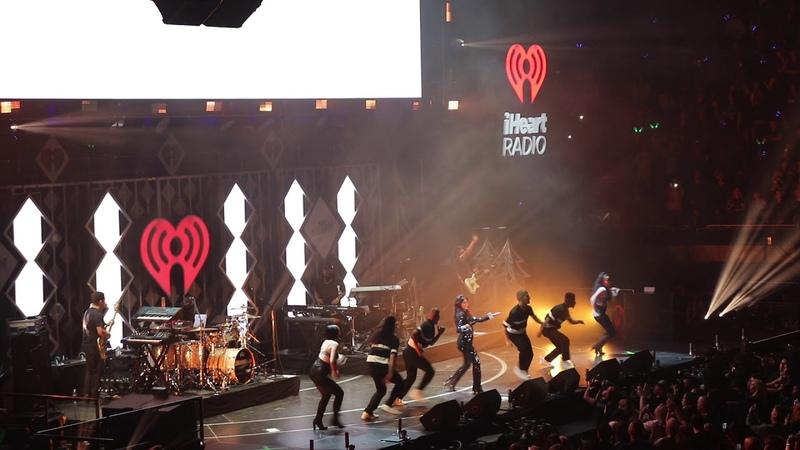 Camila Cabello performing 'Havana' at Jingle Ball concert in Los Angeles Nov 30 2018