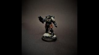 Black Templars. How to Paint, Full Tutorial
