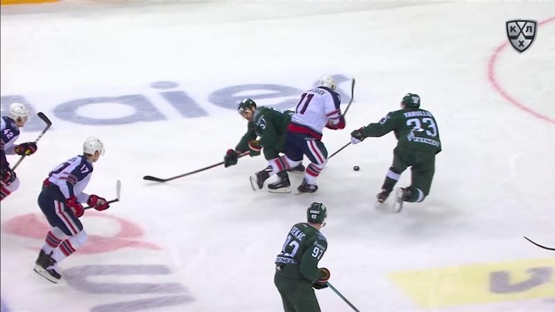 常规赛KHL 1819的最佳力量技术
