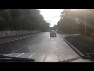 автоДУРА и (точнее -в! дорожный знак