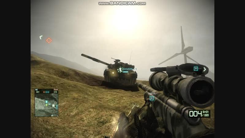 Выстрел т90 с BFBC2
