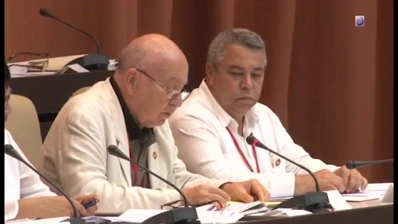 Proyecto de constitución es de justicia social, afirma diputado Miguel Barnet