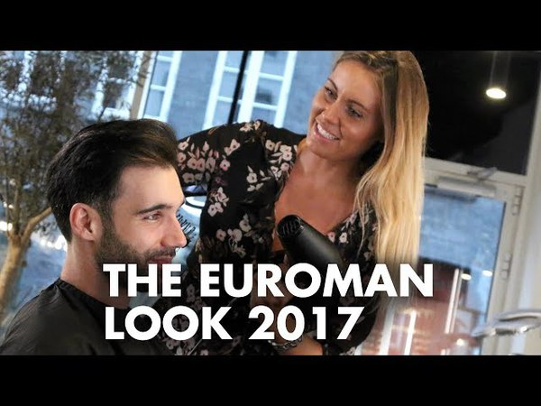 Euroman look men's hair - Sunkiss haircolor for men