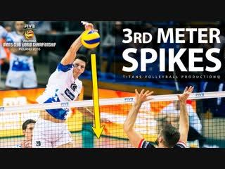 TOP 10 3rd meter spike. FIVB Club World Championship 2018.