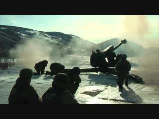Полуденный выстрел из гаубицы Д-30 в Петропавловске-Камчатском