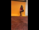 Фотосессия чернокожой девушки засветила сиськи в прямом эфире Live instagram