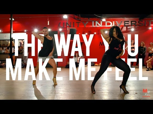 YANIS MARSHALL AISHA FRANCIS HEELS CHOREOGRAPHY. THE WAY YOU MAKE ME FEEL MICHAEL JACKSON.