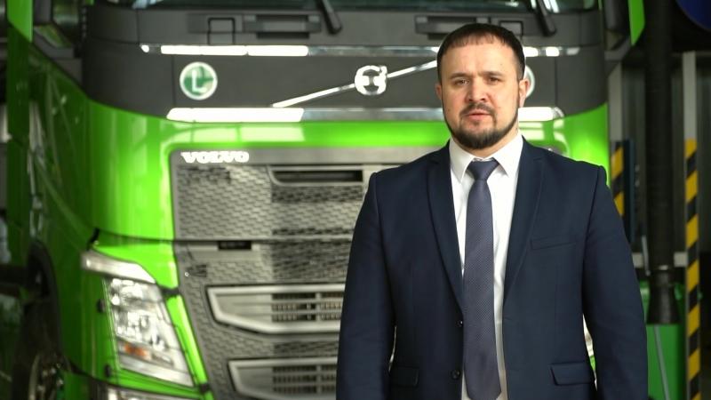 Радиф Хасанов - управляющий директор Volvo Group Kazakhstan