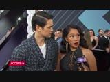 Интервью для Access 2018 E! People's Choice Awards (11 ноября 2018)