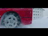 Drifting a Ferrari F40 in Snow Up To Base Camp 0